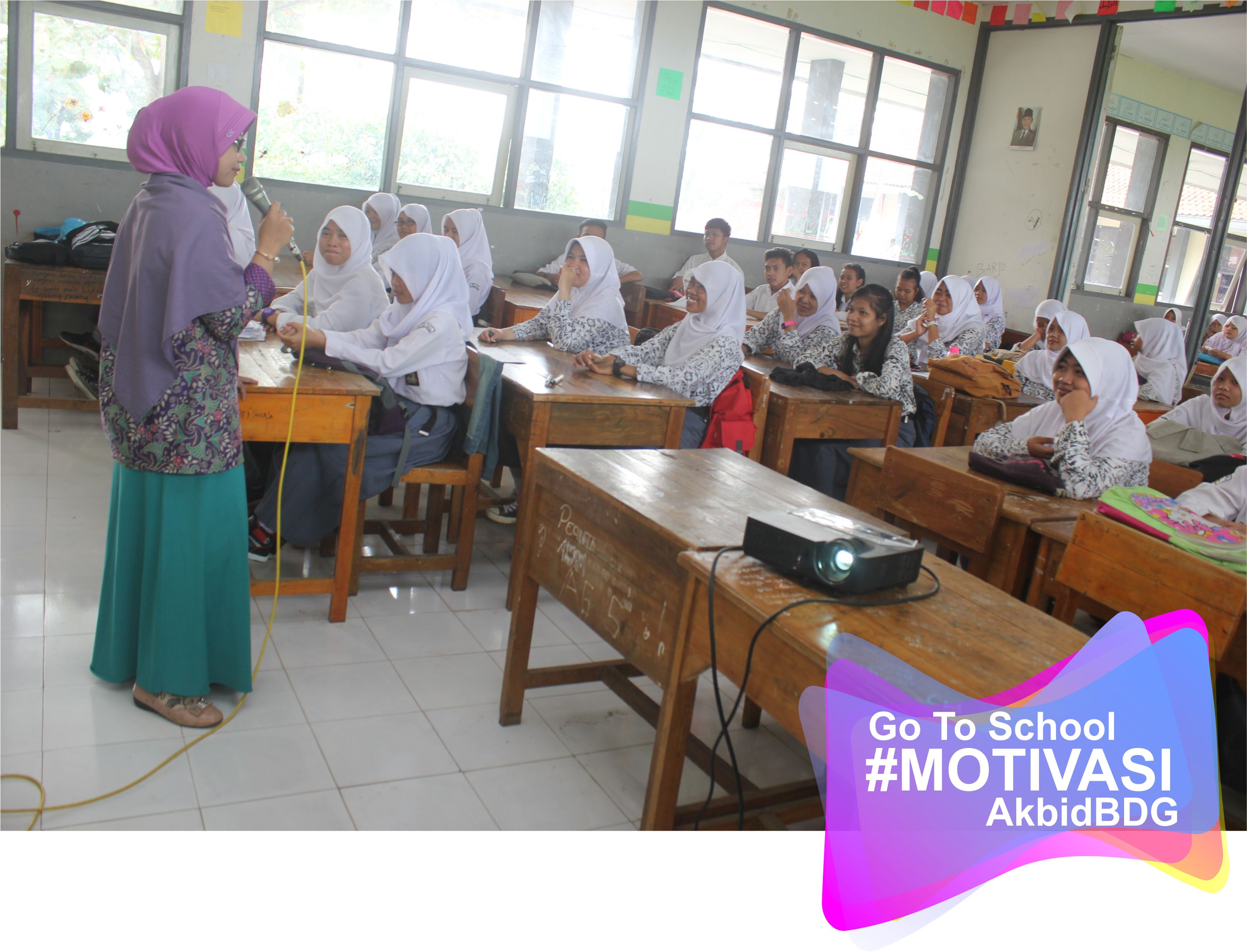 Seminar Motivasi Go To School